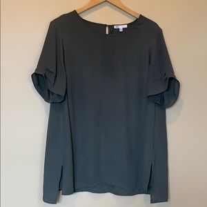 Daniel Rainn - DR2 Pinch Sleeve Blouse 2X